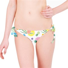Pineapple Pattern 03 Bikini Bottoms
