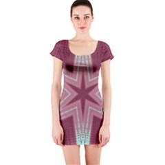 Arnfrid Ingjerd Short Sleeve Bodycon Dresses