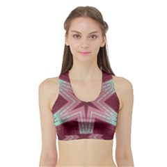 Arnfrid Ingjerd Women s Sports Bra With Border