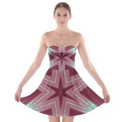 Arnfrid Ingjerd Strapless Bra Top Dress