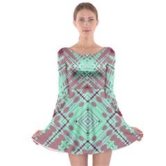 Arnfrid Fia Long Sleeve Skater Dress