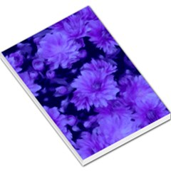 Phenomenal Blossoms Blue Large Memo Pads