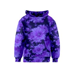 Phenomenal Blossoms Blue Kid s Pullover Hoodies