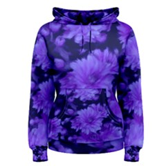 Phenomenal Blossoms Blue Women s Pullover Hoodies