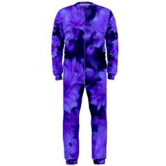 Phenomenal Blossoms Blue OnePiece Jumpsuit (Men)