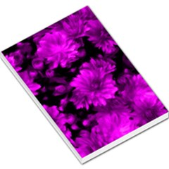 Phenomenal Blossoms Hot  Pink Large Memo Pads