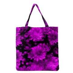 Phenomenal Blossoms Hot  Pink Grocery Tote Bags