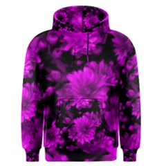 Phenomenal Blossoms Hot  Pink Men s Pullover Hoodies