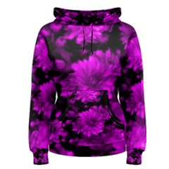 Phenomenal Blossoms Hot  Pink Women s Pullover Hoodies