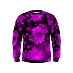 Phenomenal Blossoms Hot  Pink Boys  Sweatshirts