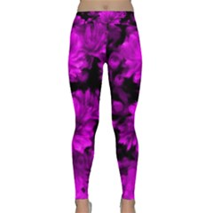 Phenomenal Blossoms Hot  Pink Yoga Leggings