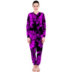 Phenomenal Blossoms Hot  Pink OnePiece Jumpsuit (Ladies)