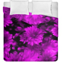 Phenomenal Blossoms Hot  Pink Duvet Cover (king Size)