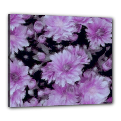 Phenomenal Blossoms Lilac Canvas 24  x 20