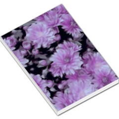 Phenomenal Blossoms Lilac Large Memo Pads