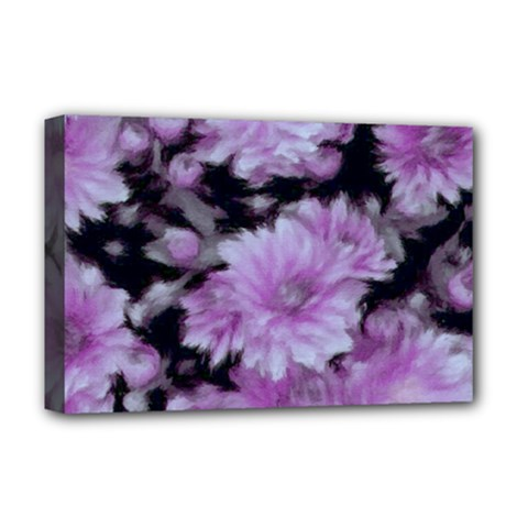 Phenomenal Blossoms Lilac Deluxe Canvas 18  x 12