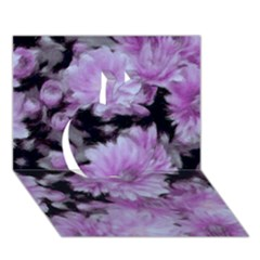 Phenomenal Blossoms Lilac Apple 3D Greeting Card (7x5)