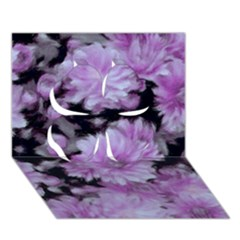 Phenomenal Blossoms Lilac Clover 3d Greeting Card (7x5)