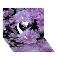 Phenomenal Blossoms Lilac Ribbon 3D Greeting Card (7x5)