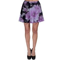 Phenomenal Blossoms Lilac Skater Skirts