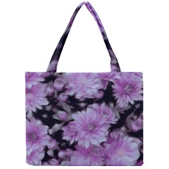 Phenomenal Blossoms Lilac Tiny Tote Bags