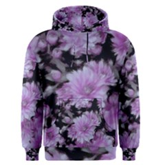 Phenomenal Blossoms Lilac Men s Pullover Hoodies
