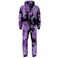 Phenomenal Blossoms Lilac Hooded Jumpsuit (Men)
