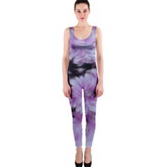 Phenomenal Blossoms Lilac OnePiece Catsuits