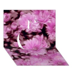 Phenomenal Blossoms Pink Apple 3D Greeting Card (7x5)