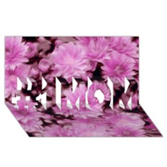 Phenomenal Blossoms Pink #1 MOM 3D Greeting Cards (8x4)