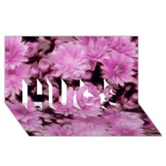 Phenomenal Blossoms Pink HUGS 3D Greeting Card (8x4)