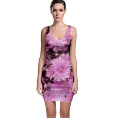 Phenomenal Blossoms Pink Bodycon Dresses