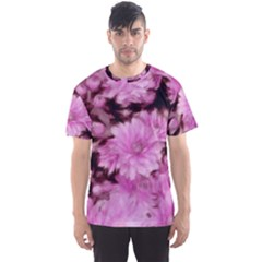 Phenomenal Blossoms Pink Men s Sport Mesh Tees