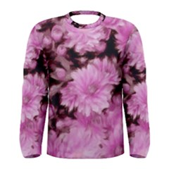 Phenomenal Blossoms Pink Men s Long Sleeve T Shirts