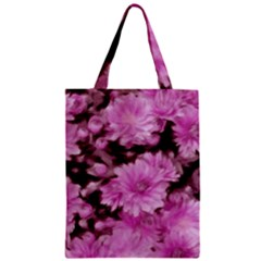 Phenomenal Blossoms Pink Zipper Classic Tote Bags