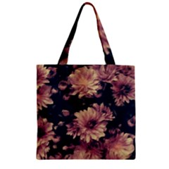 Phenomenal Blossoms Soft Zipper Grocery Tote Bags