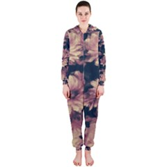 Phenomenal Blossoms Soft Hooded Jumpsuit (Ladies)
