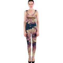 Phenomenal Blossoms Soft OnePiece Catsuits