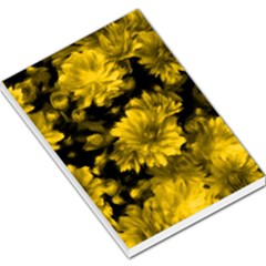 Phenomenal Blossoms Yellow Large Memo Pads