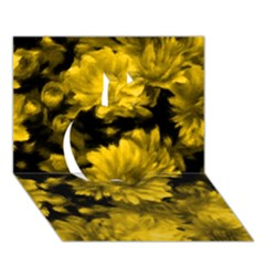 Phenomenal Blossoms Yellow Apple 3D Greeting Card (7x5)