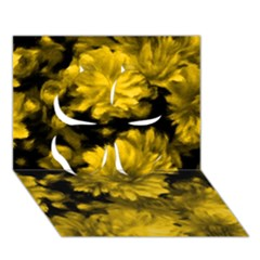 Phenomenal Blossoms Yellow Clover 3d Greeting Card (7x5)