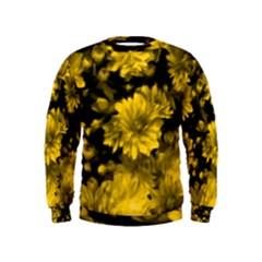 Phenomenal Blossoms Yellow Boys  Sweatshirts