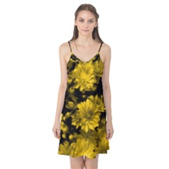 Phenomenal Blossoms Yellow Camis Nightgown