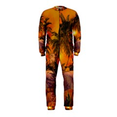 Wonderful Sunset In  A Fantasy World OnePiece Jumpsuit (Kids)
