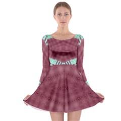 Arnfrid Belinda Long Sleeve Skater Dress