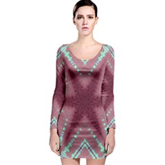 Arnfrid  Gudrun Long Sleeve Bodycon Dresses
