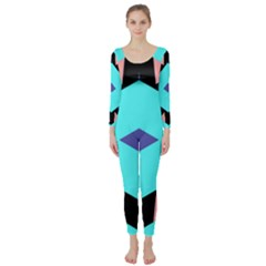 Benny Frank Long Sleeve Catsuit