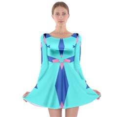 Benny Erich Long Sleeve Skater Dress