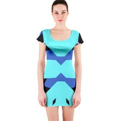 Benny Burt Short Sleeve Bodycon Dresses