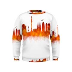 Barcelona 02 Boys  Sweatshirts